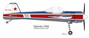 Yakovlev Yak-55M