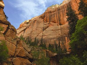 Kolob Arch - Rock Walls