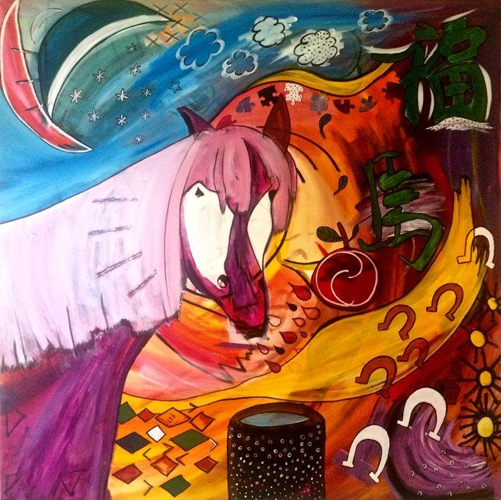 Horse Luck - Alex Art