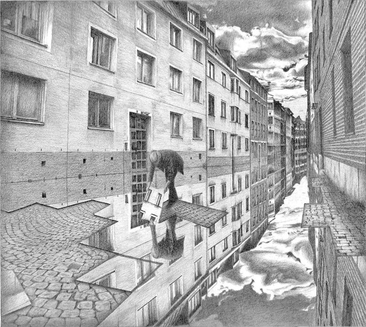 Unrealistic Street - George Sotirchos Art