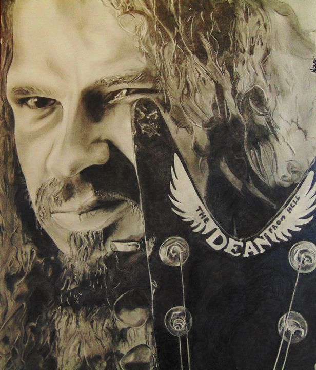 Dimebag Darrell Abbott_Graphite - H.S.Everetts