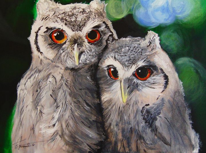 White Owls - H.S.Everetts