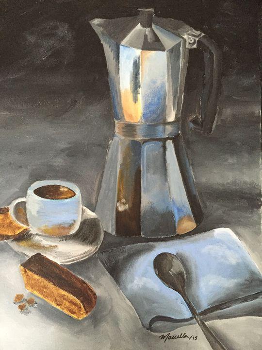 Espresso and Biscotti - Marcella