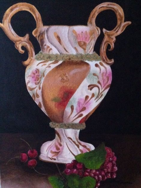 Antique Vase - Marcella