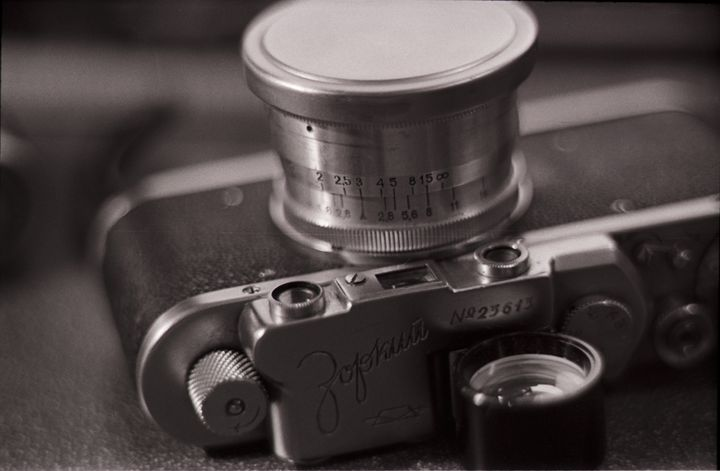 Zorki 1, Vintage Russian Camera - Valentine Kleyner