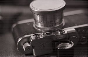 Zorki 1, Vintage Russian Camera