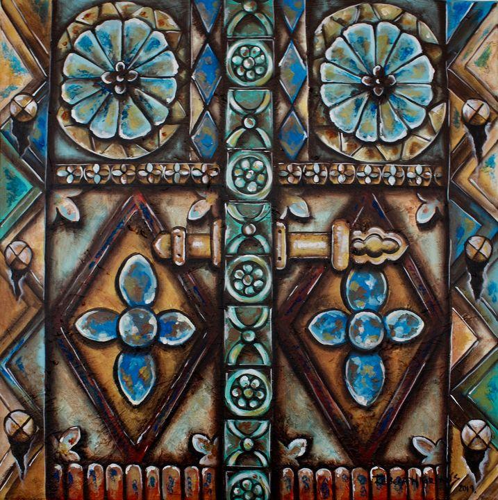 Elegant door - Art by Rebeca