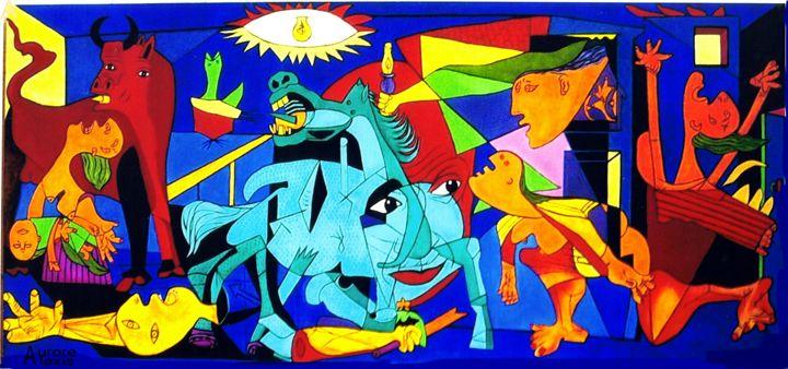 Guernica et le regard de Picasso - Aurore Alexis