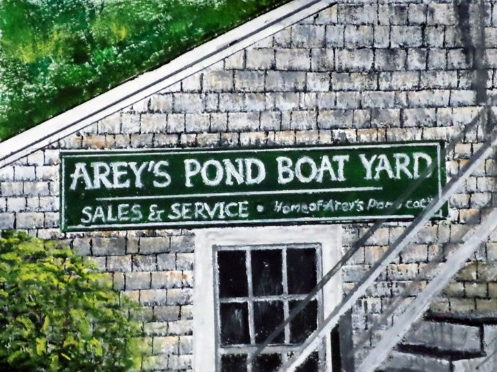 Arey's Pond  Boat Yard - Wheeler Art Works