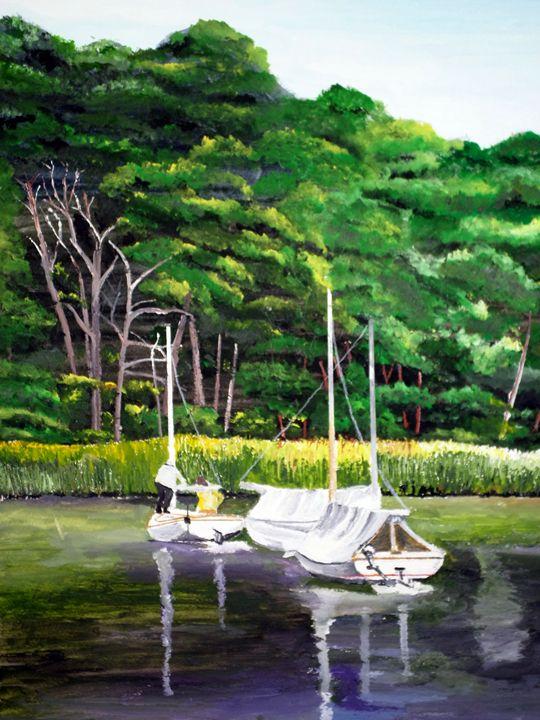 Catboats - Wheeler Art Works