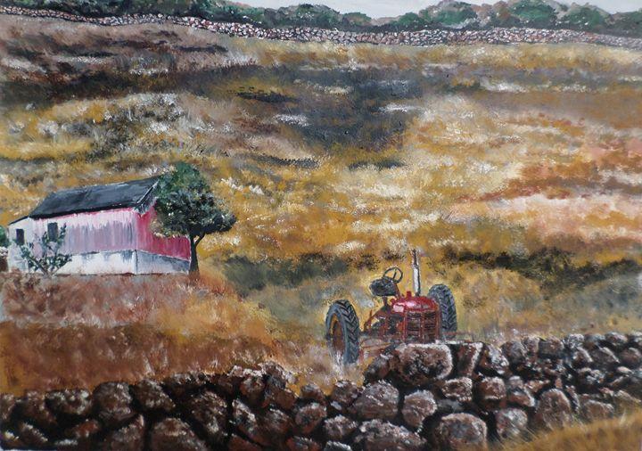 New Englanc Farm - Wheeler Art Works