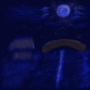 Midnight at the river - Stefan Vennberg