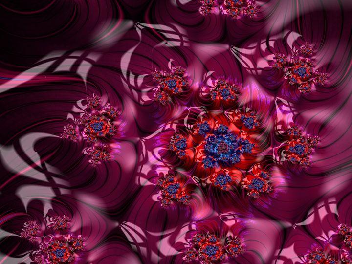 Sea of Purple flowers - Moon Tremors Studio