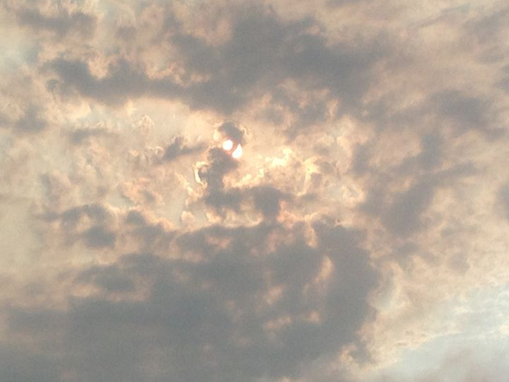 partly cloudy - Photos