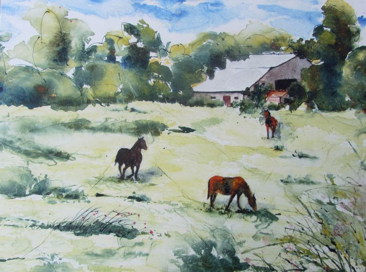 Countryside   (campagne) - Pauline Vohl