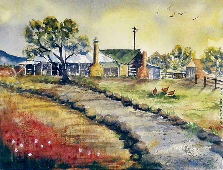The Old Farm - Glenda's Art