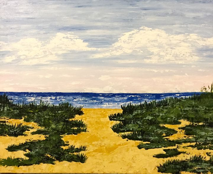 The dunes of Block Island - S Hennessey