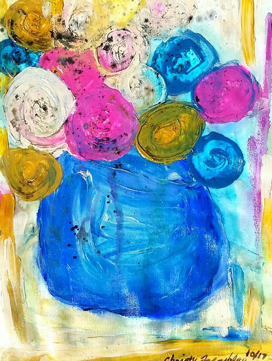 Blooming Blooms 1 - Christy Tremblay