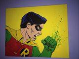 16x20 robin pop art