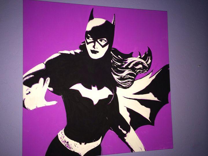Batgirl pop art - Erikgee