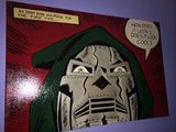 24x36 painting of Dr. Doom