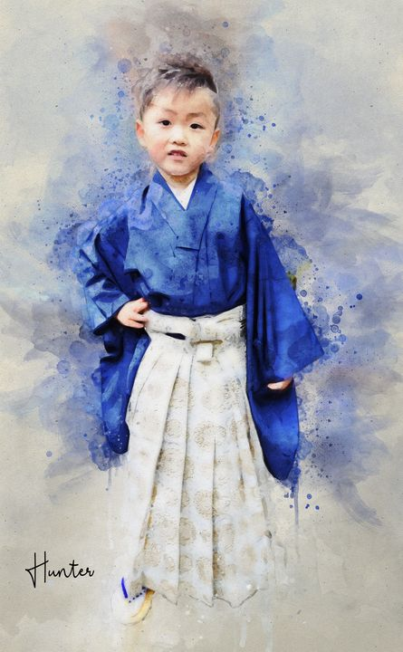The Lil' samurai - Natural Born Talents