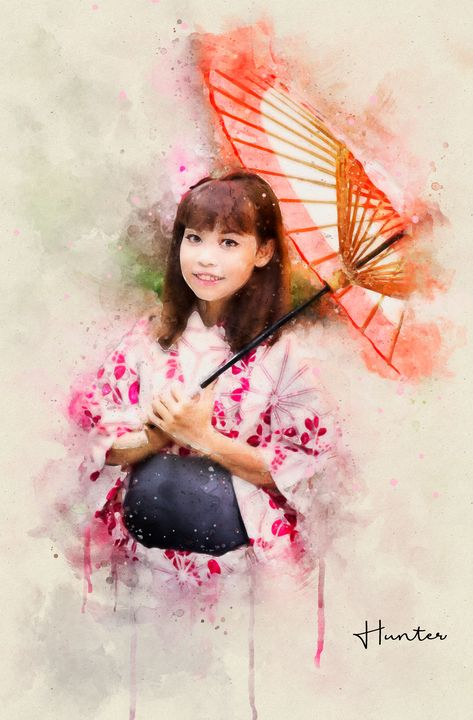Cute Young Geisha - Natural Born Talents