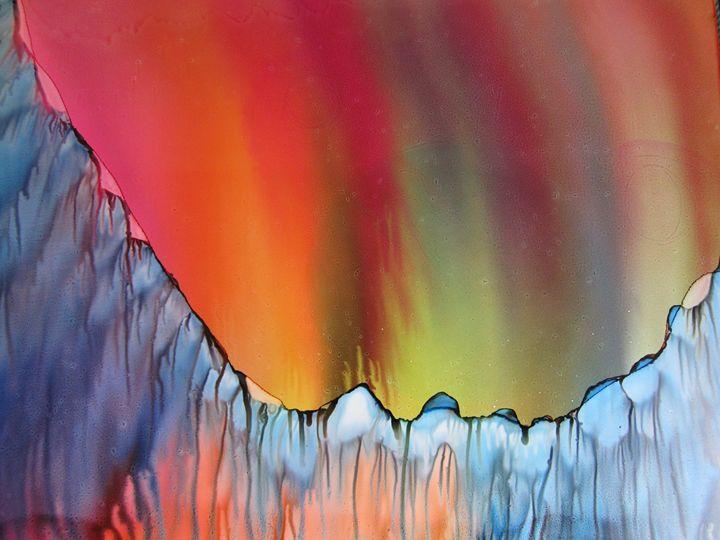 Colored Lights - Susan Riha Parsley Gallery Art Ink It!