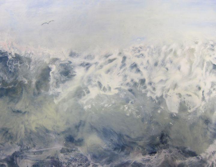 Ocean Wave - Susan Riha Parsley Gallery Art Ink It!