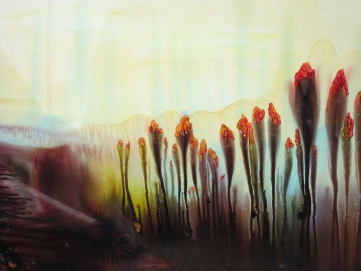 Summers End - Susan Riha Parsley Gallery Art Ink It!