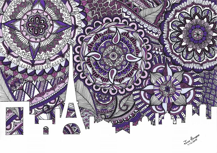 Zentangle Art Paris - Ilse Fragoso