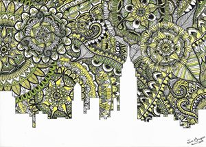 Zentangle Art New York