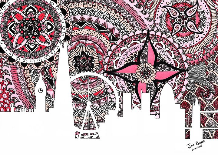 Zentangle Art London - Ilse Fragoso