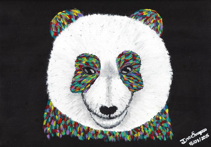 Colorful Panda - Ilse Fragoso