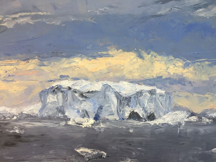 'Antarctica III' - Celia Ellis