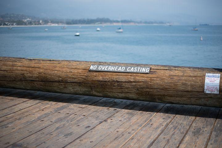 Santa Barbara Pier - Korren Grass Photography