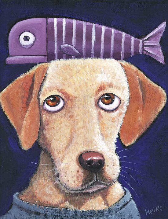 Dog & Fish - Atelier M 絵夢