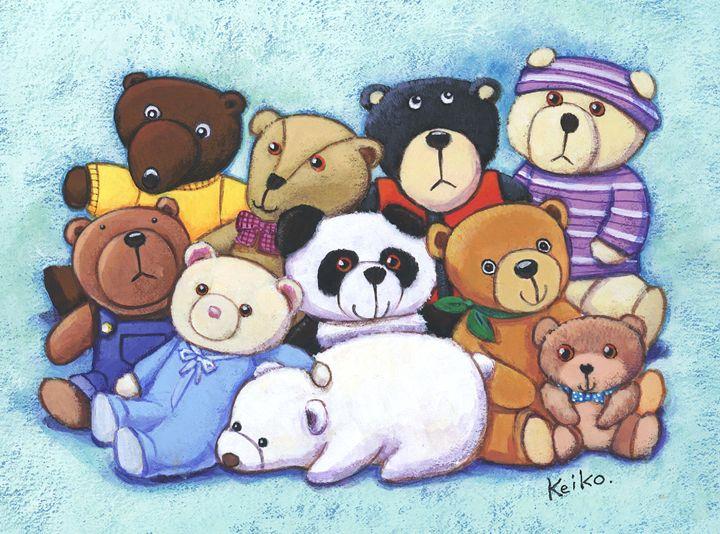 Staffed Bears - Atelier M 絵夢