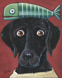 Black Dog & Fish