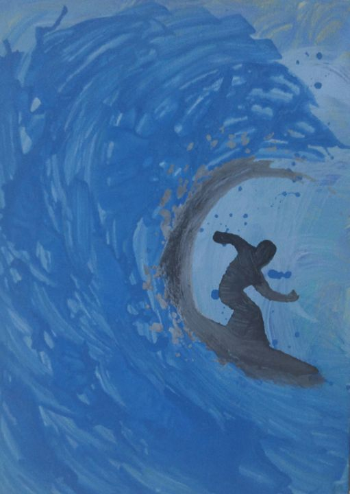 Surfer Boy - artistpitts