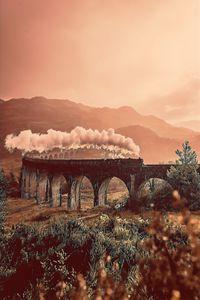 Train In Old Bridge Road