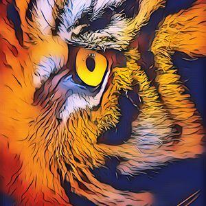 Tiger Strong Eyes