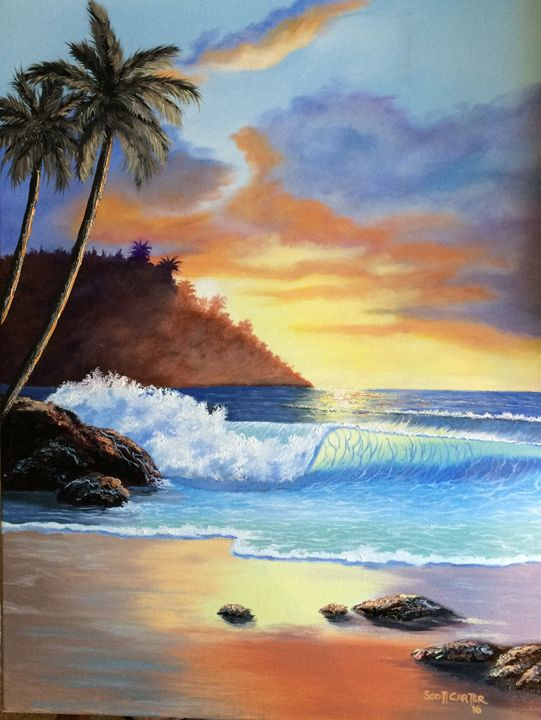 Kona Hawaii - Scott's Art Gallery