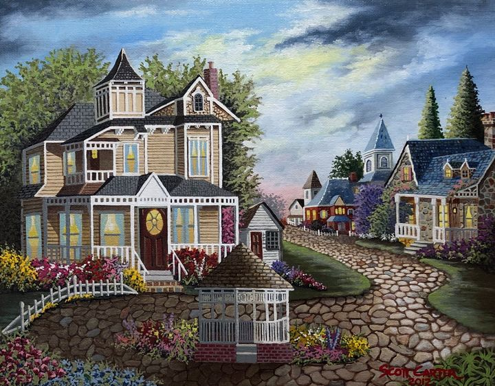 Fantasy Village - Scott's Art Gallery