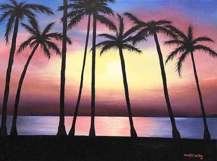 Sunset Beach - Scott's Art Gallery