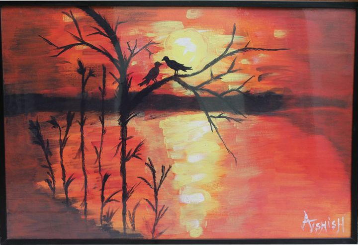 Love in the Air - Expressionist