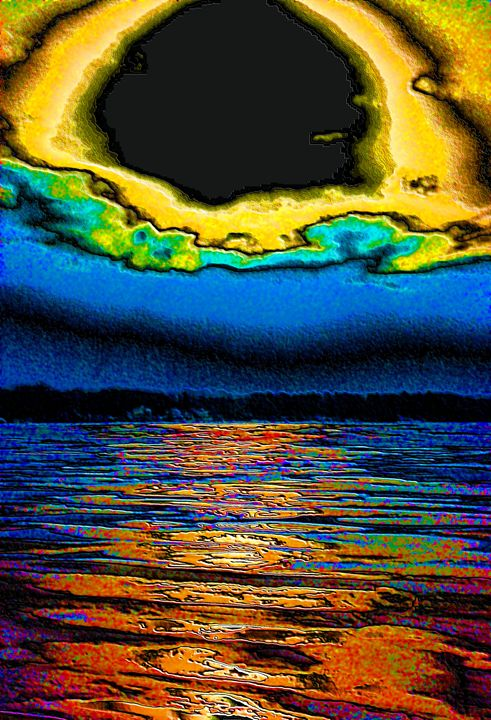 Sunflower Sky Abstract - Mark Goodhew Photography