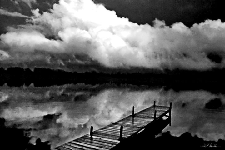 Clouds off Dock - Mark Goodhew Photography