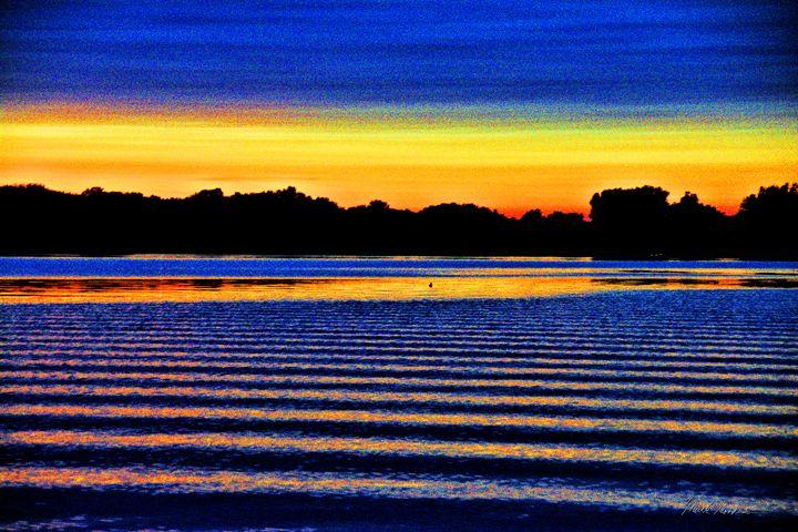 Blue Sunset - Mark Goodhew Photography