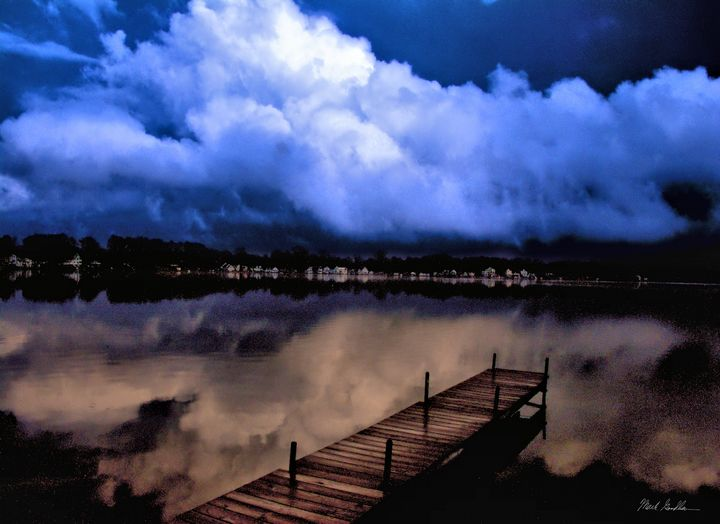 Clouds off Dock 2 - Mark Goodhew Photography